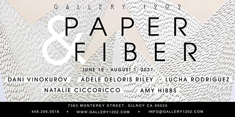 """Opening Reception for """"Paper & Fiber"""" - LIVE MUSIC AND FREE WINE TASTING tickets"""