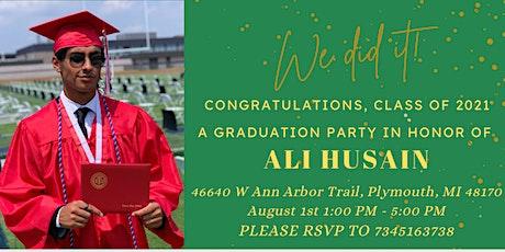 Ali's Graduation Party tickets