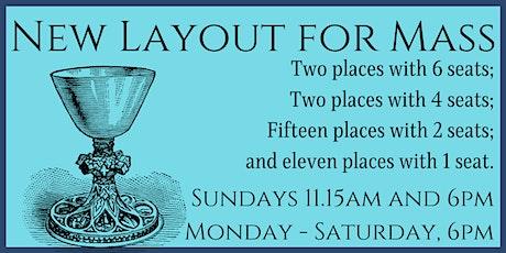 Mass at Blackfriars - Sunday 20 June - 11.15am - New Seat Layout tickets