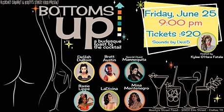 Bottoms Up - a Burlesque Toast to the Cocktail tickets