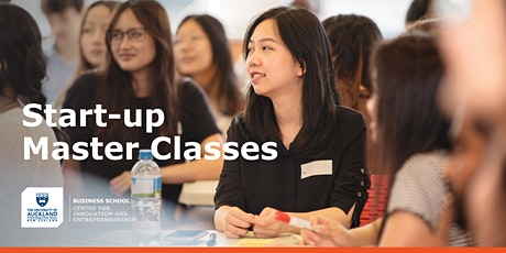 Start-up Master Classes tickets