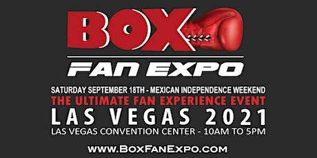BOX FAN EXPO - LAS VEGAS 2021 tickets
