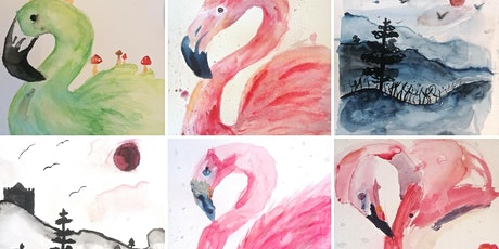 Animals in Watercolour: Summer Holiday Workshop tickets