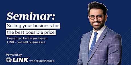 Selling your business for the best possible price - Melbourne tickets