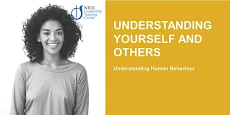 NTCG - Understanding Yourself & Others tickets