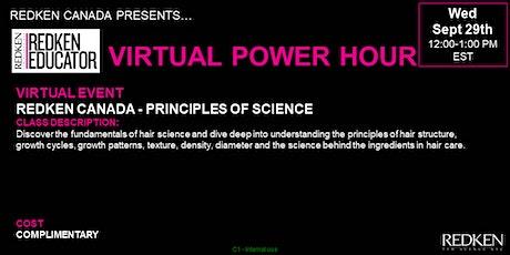 REDKEN CANADA - PRINCIPLES OF SCIENCE tickets