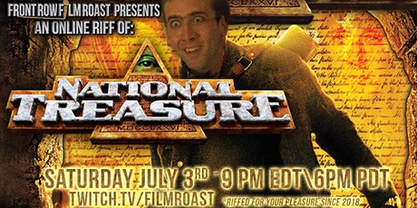 Free Online Riff of National Treasure tickets