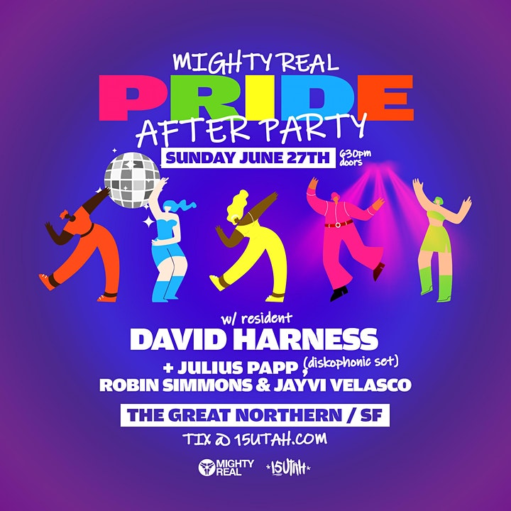 Mighty Real Pride Poolside Party + After Party image