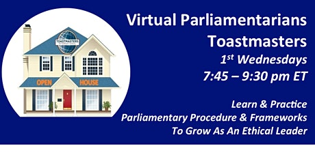 Virtual Parliamentarians Meeting: Where Ethical Leaders Are Made tickets
