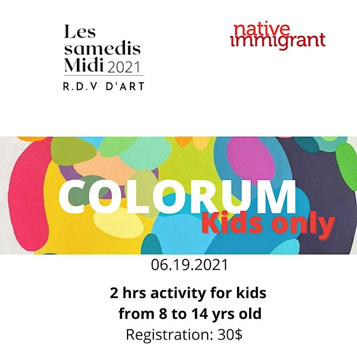 Image de Colorum - Kids only