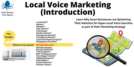 Local Voice Search (VSEO) Marketing : Introduction tickets
