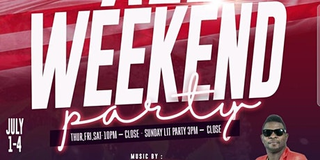 JULY 4TH  WEEKEND AFRO  CARIBBEAN REGGAE PARTY tickets