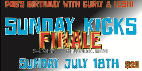 SuNDaY KiCkS FinALe for pOb's BirTHdaY tickets