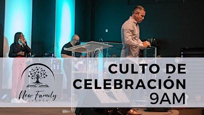 1er Culto de Celebración (9AM) entradas