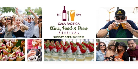 2021 Casa Pacifica Angels Wine, Food & Brew Festival tickets
