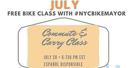 Commute & Carry Class  |  La oficina y los recados - en bici tickets