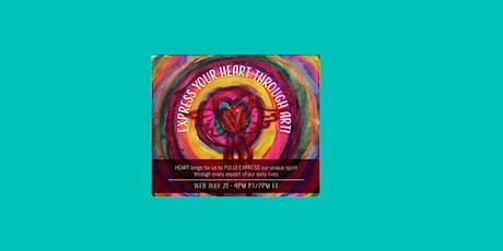 Express Your Heart Through Art! billets