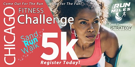 RUN YOUR MILES 5K Sand Run-Walk Fitness Challenge tickets
