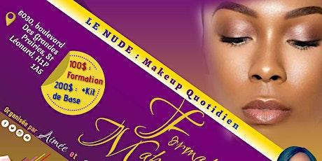 Formation maquillage billets
