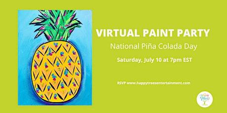 Virtual Paint Party:  Pineapple Palooza tickets