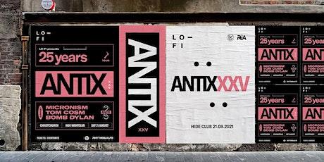 ANTIX25CHCH tickets