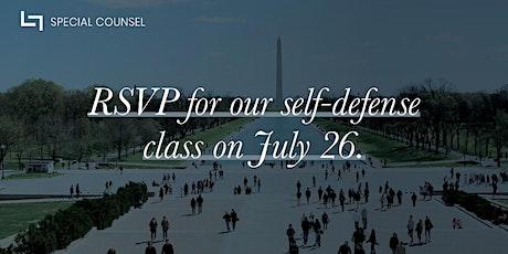 Self Defense Class (Washington D.C.) tickets