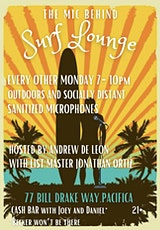 Free Comedy Open Mic Behind Surf Lounge tickets