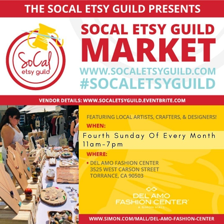 SoCal Etsy Guild Market Torrance image