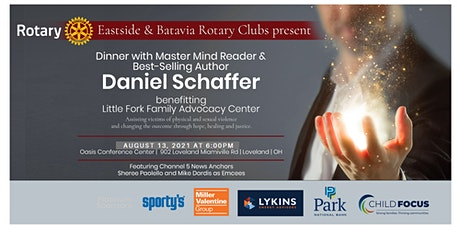 Dinner with Master Mind-Reader Daniel Schaffer tickets