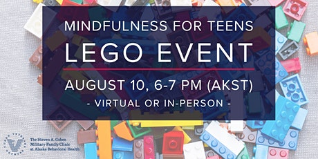 Mindfulness for Teens - Lego Event tickets