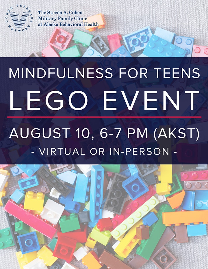 Mindfulness for Teens - Lego Event image