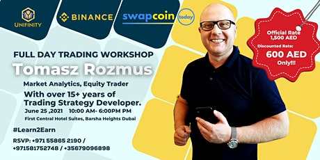 Unifinity: Binance Training and Certification Workshop tickets