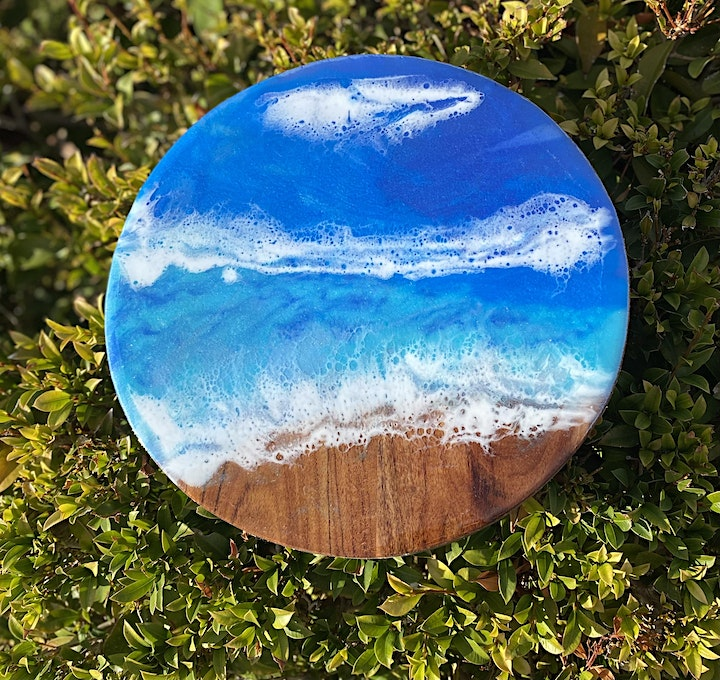 Resin workshops for beginners ALICE SPRINGS 4 and 5 sept image