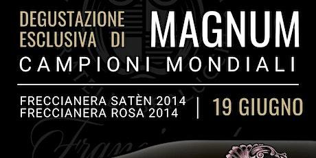 Tasting Esclusivo Franciacorta Magnum campioni del mondo 2020 biglietti