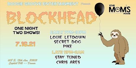 Blockhead (Early Show) tickets