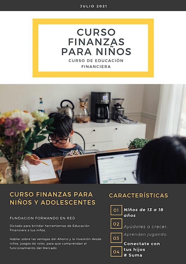 Imagen de Curso de Educación Financiera para niños y adolescentes