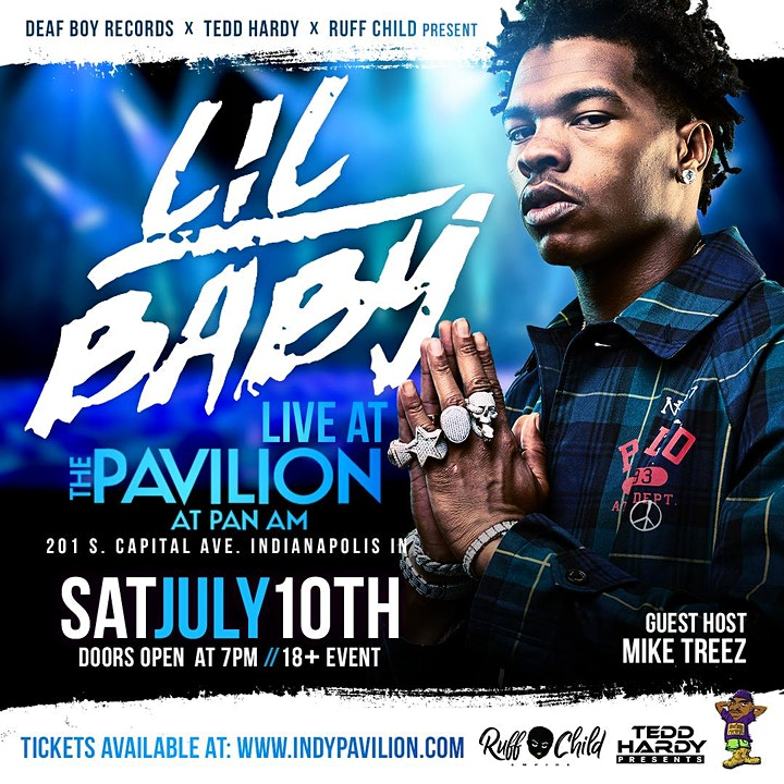 Lil Baby Live at the Pavilion image
