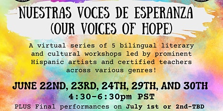 Voices of Hope Workshop Series tickets
