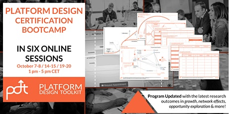 The Online Platform Design Certification Bootcamp tickets