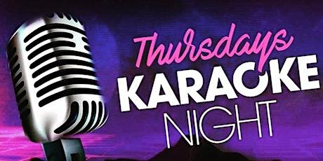 Thursday Night Karaoke Party with Shoji tickets