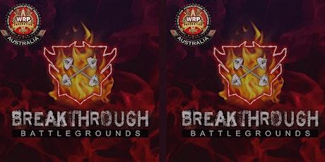Breakthrough Battlegrounds tickets