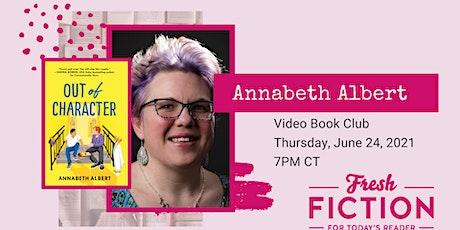 Video Book Club with Author Annabeth Albert tickets