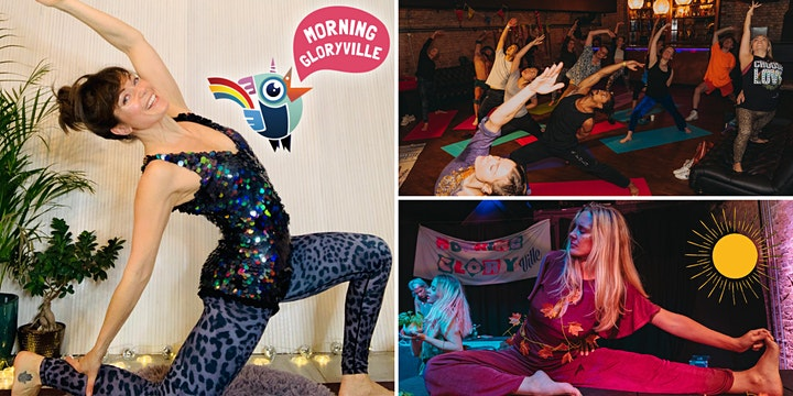 Morning Gloryville Sunrise Disco Yoga Flow with Polly Griffiths image