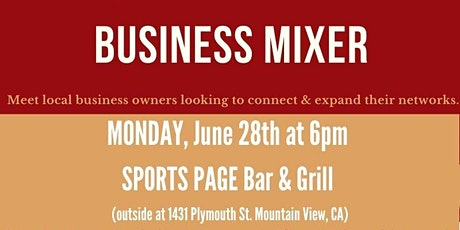 Business Mixer (hosted by BNI Sunnyvale Chapter, Empowered Business Partner tickets