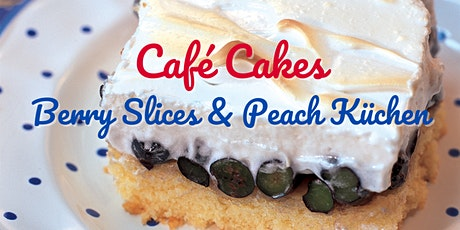 Red, White, and Blue Berry Meringue Cake Baking Demonstration tickets