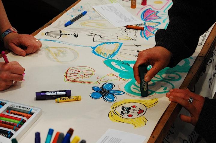 Elizabeth Archard ''Doodle Chatter''   Holburne image