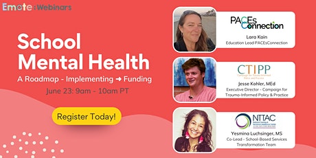 School Mental Health - From Implementing ➜ Funding tickets