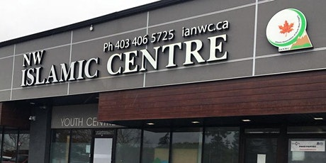 Friday Prayers-North West Islamic Centre | June 18, 2021 tickets