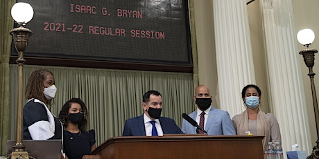 District Swearing In of Assemblymember Isaac G. Bryan tickets