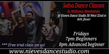 Advanced  Beginner Salsa Class in Manhattan tickets